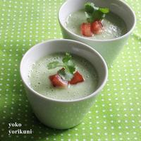 【レシピ】キュウリと豆乳ヨーグルトの冷製スープ