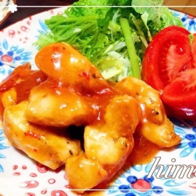〜 鶏胸肉で鶏チリ 〜