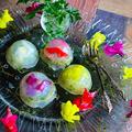 ナポリの水中庭園  スプラウト×食用花を寒天に閉じ込めた乾物イタリアンサラダ