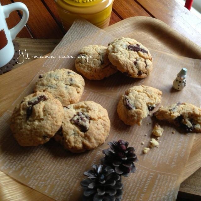 メープルチョコチップクッキー。〜買い出しへGO!ひろみ〜