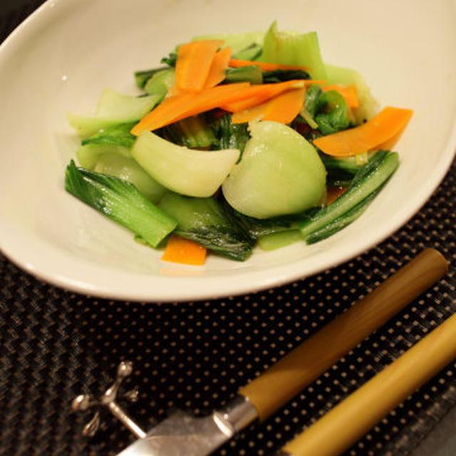 青梗菜のさっぱり炒め