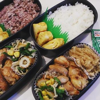 3月22日(火) 鶏もも肉の塩麹焼き弁当。