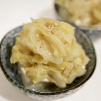 柚子胡椒風味のキャベツやっこ。 レンジ調理でうまっ♡  【時短レシピ】
