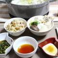 3種のタレで鶏手羽元水炊き。〆はペンネカルボナーラ♪ by 杏さん