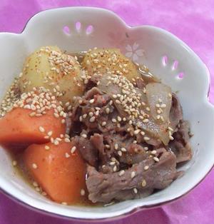 韓国風★肉じゃが