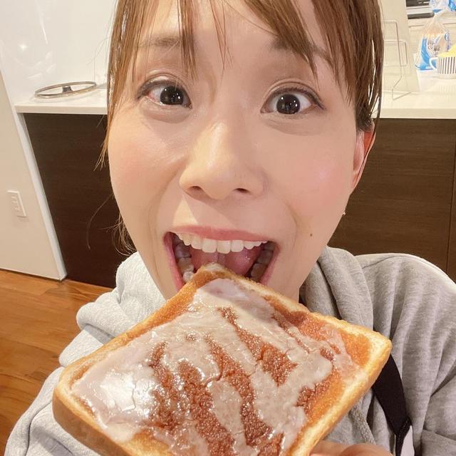 5分でできる!シナモンロール風トーストです!!