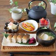 期待通りの焼き鯖寿司