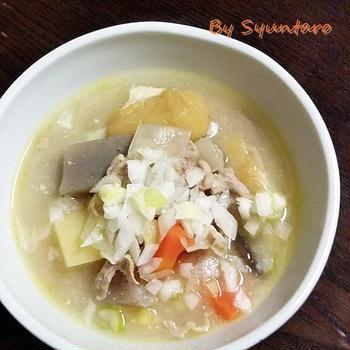 【鹿児島郷土料理】『豚汁』これさえあれば、ご飯が一膳いけます。|くらしのアンテナに掲載されてました (* ̄∇ ̄*)エヘヘ