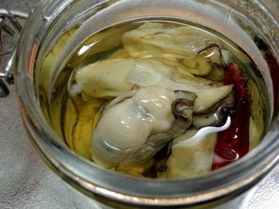 ボーソー米油で☆サラッとした牡蠣のオイル漬けに♡