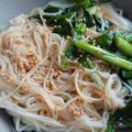 ごま油香るビビンそうめんと温かいスープ素麺。韓国おばあちゃんの人気レシピTop3