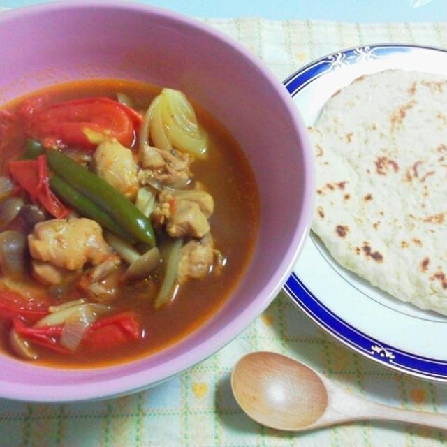 暑い夏はスープカレーが美味しいよね♪&簡単に作れちゃうナン☆
