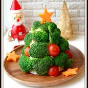 ★クリスマスツリーのポテトサラダ【レシピ】★