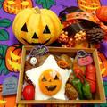 ハロウィン★煮込みハンバーグのせ弁当 by とまとママさん
