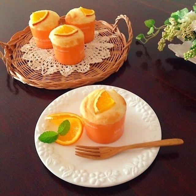 基本の材料2つ♡オレンジ香るヨーグルトマフィン♡と新米ママへのエール♪