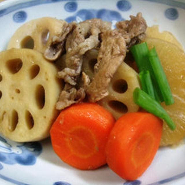 冬野菜の煮物