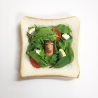☺︎食パンonサラダ