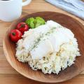 【#鶏むね肉】炊飯器で簡単!鶏むね肉の海南チキンライス