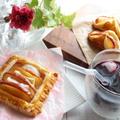 冷凍パイシートで簡単に作ろう!りんごとカマンベールチーズパイ by ひなちゅんさん