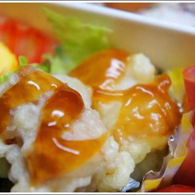 やわらか蒸し大豆deちくわ天&野菜天☆☆
