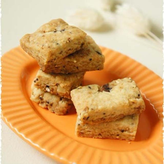 簡単!美味しい雑穀クッキー♪バター・卵不使用!