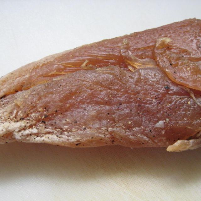 *塩漬け鶏胸肉