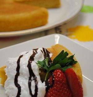 ホットケーキミックス×炊飯器で 簡単 プリンケーキ ☆