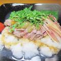 とろける柔らかさと肉汁、極厚牛ヒレ肉の冷シャブ~v(^0^)/ by haruさん