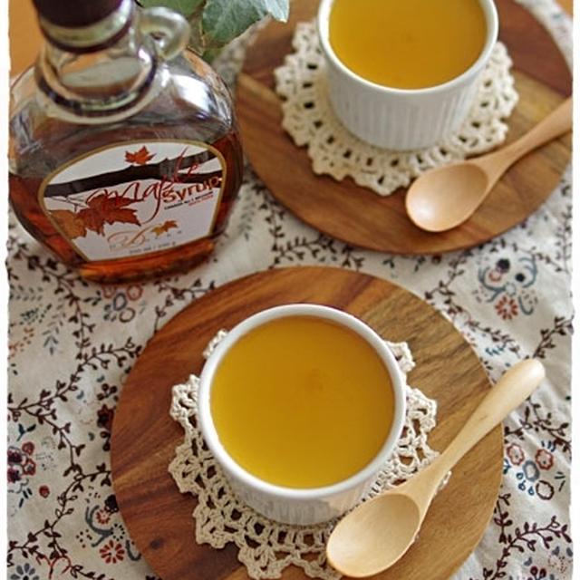 メープル豆乳ミルクプリン♪