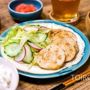 レンコンの挟み焼き定食とレンコンレシピまとめ、今日のレシピ