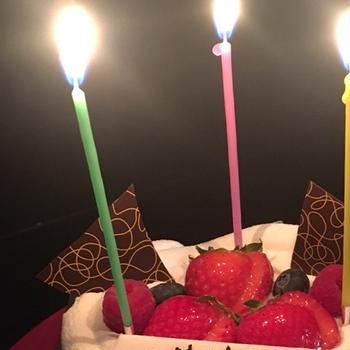 乃が美の食パンと誕生日。