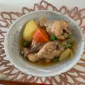 圧力鍋で✨鶏手羽元の肉じゃが✨