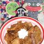 ケララチキンカレー&水菜とベーコンビッツのチーズマヨサラダ(お家カフェ)