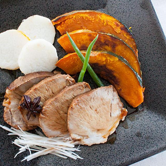 豚もも肉で作る、八角風味の煮豚