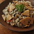 芽ひじきと筍の混ぜ寿司 by マルシェさん