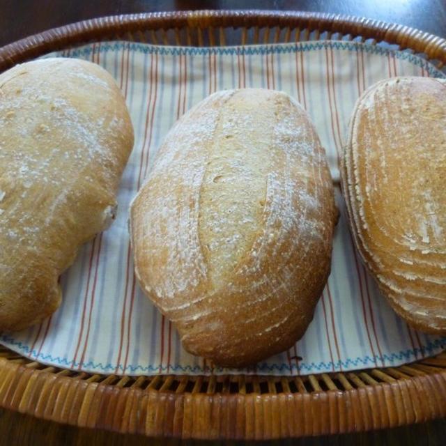 カンパーニュ、デザートパン、たい焼き
