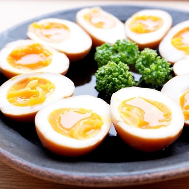 大人気♪我が家の半熟煮卵(味玉)レシピ