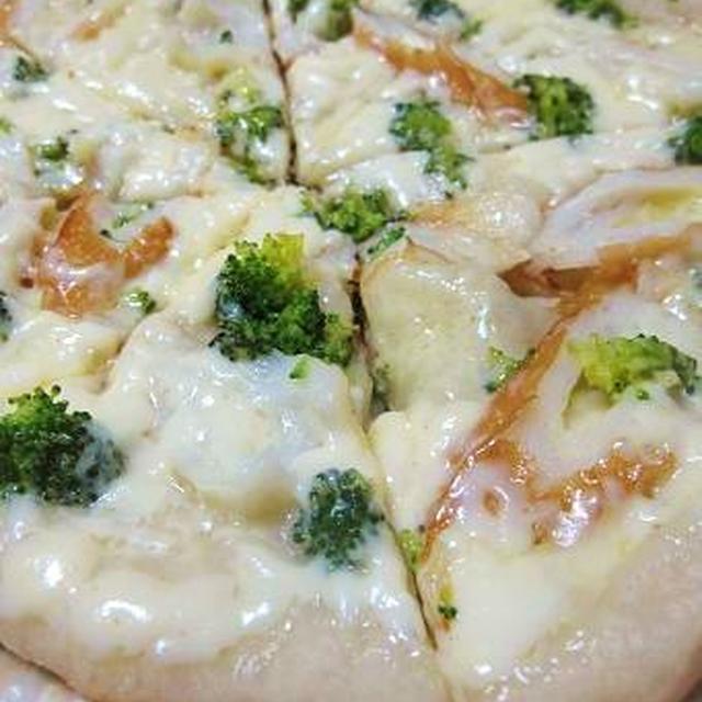 【パンレシピ】フライパンで焼ける!サクサクもちもち♪米粉ピザ