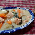 秋鮭と野菜のヘルシーシチュー by Marikoさん