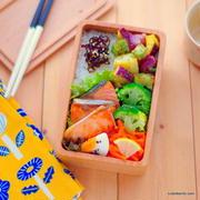 焼き鮭弁当&3種のクリスピーフライドポテト