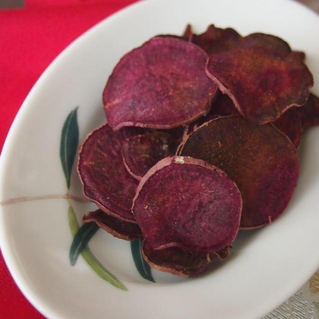 ◇スパイス大使◇紫芋のおつまみスパイスチップス