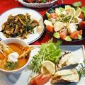 ■続・クリスマス料理【牡蠣グラタン/オマール海老の焼き蟹入りスープ/他2種です♪】