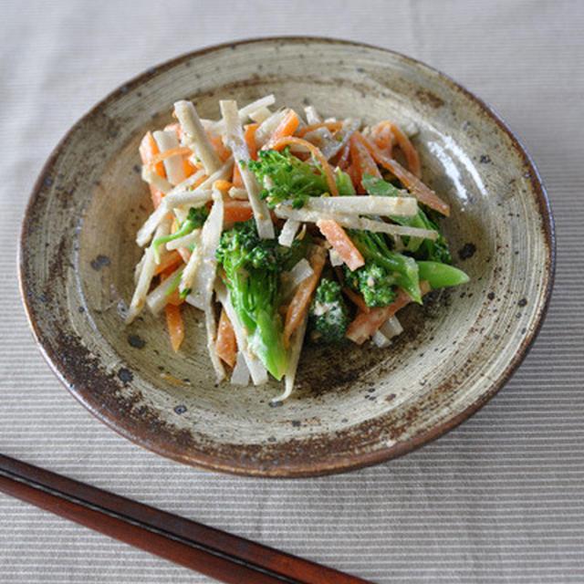 ゴボウサラダ(豆腐マヨベース)