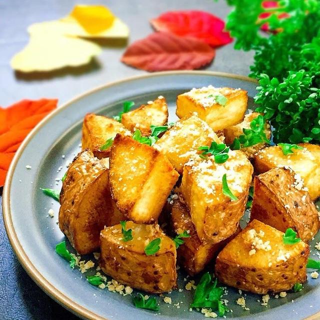 超簡単ヘルシー!冷めても美味!長芋のイタリアン風フライドポテト♪〈米油〉