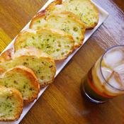 イタリアンハーブのガーリックトースト