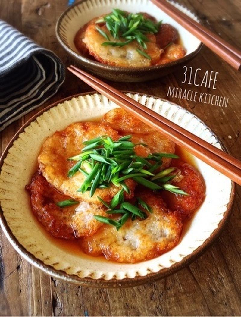 食感や味の違いが楽しめる!「山芋・長芋」を揚げて大満足おかず♪