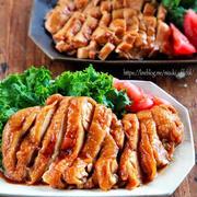 ♡レンジde6分♡絶品鶏チャーシュー♡【#簡単レシピ#時短#節約#鶏むね肉#鶏もも肉】