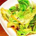 ナンプラーの簡単な使い方・キャベツのガーリックナンプラー炒め・タイ料理