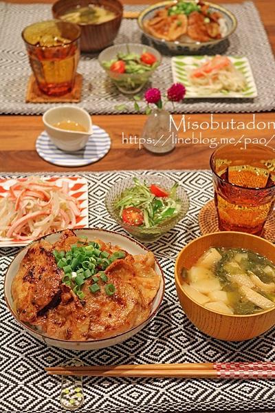 昨日の晩ご飯♪ガッツリ丼ぶりに合うあっさり作り置き副菜2種!