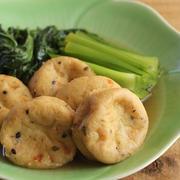 フライパンで簡単♪がんもと小松菜の麺つゆ煮浸し(工程写真あり)
