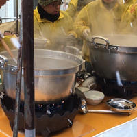 鶴岡冬の一大イベント、日本海寒鱈まつりに参加してきました。